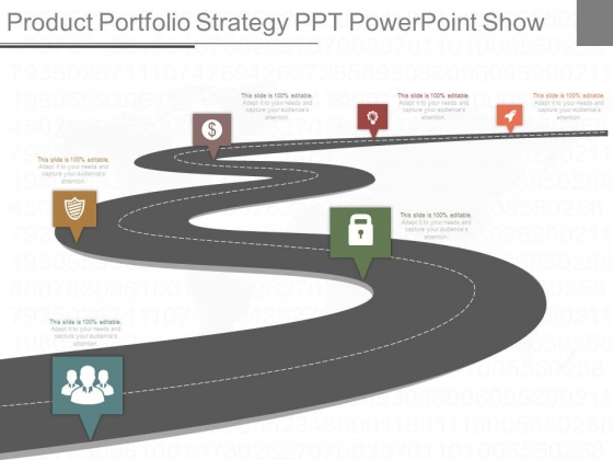 Product Portfolio Strategy Ppt Powerpoint Show