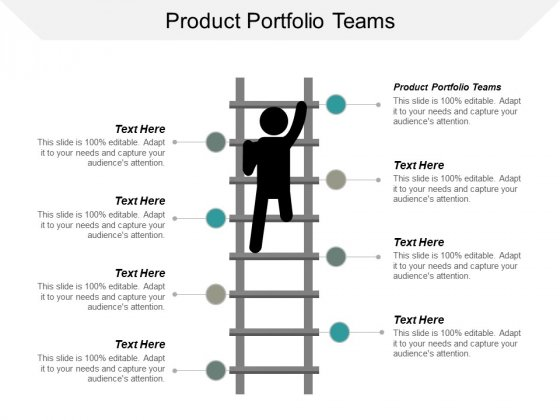 Product Portfolio Teams Ppt PowerPoint Presentation Model Guidelines Cpb