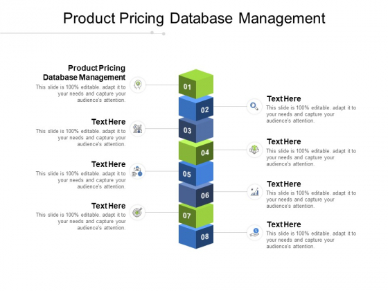 Product Pricing Database Management Ppt PowerPoint Presentation Outline Maker Cpb Pdf