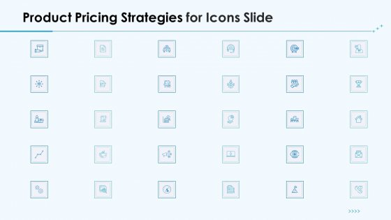 Product Pricing Strategies For Icons Slide Ppt Show Model PDF