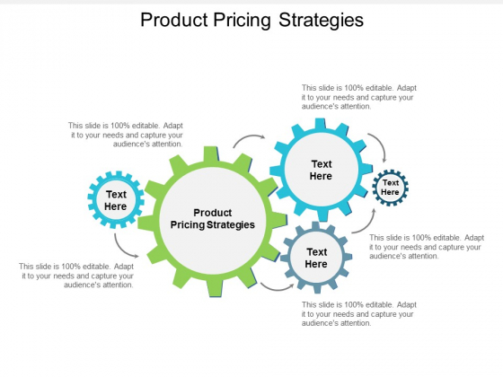 Product Pricing Strategies Ppt Powerpoint Presentation Portfolio Graphic Tips Cpb