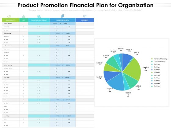Product_Promotion_Financial_Plan_For_Organization_Ppt_PowerPoint_Presentation_File_Guide_PDF_Slide_1