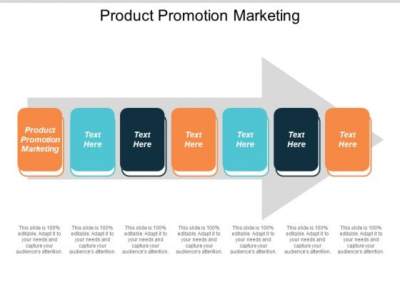 Product Promotion Marketing Ppt Powerpoint Presentation Show Example Introduction
