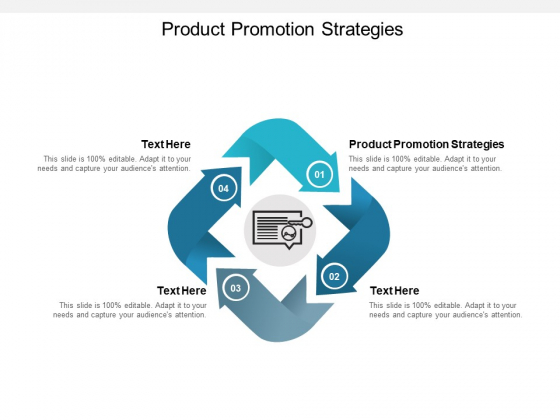 Product Promotion Strategies Ppt PowerPoint Presentation Professional Ideas Cpb