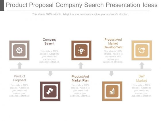 product proposal company search presentation ideas powerpoint