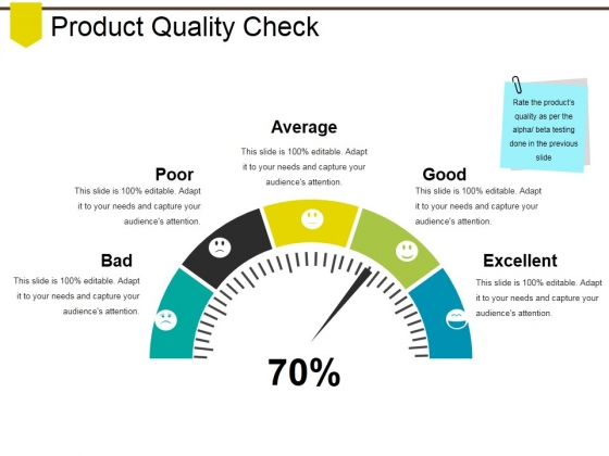 Product Quality Check Ppt PowerPoint Presentation Gallery Clipart Images