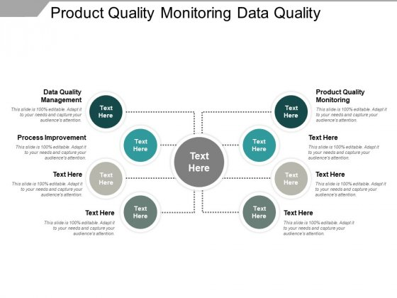 Product Quality Monitoring Data Quality Management Process Improvement Ppt PowerPoint Presentation Show File Formats