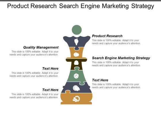 Product Research Search Engine Marketing Strategy Quality Management Ppt PowerPoint Presentation Ideas Diagrams