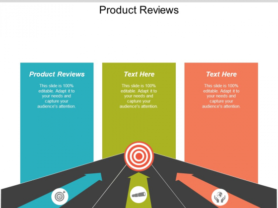 Product Reviews Ppt Powerpoint Presentation Model Show Cpb