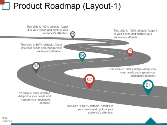 Product Roadmap Layout1 Ppt PowerPoint Presentation Layouts Layouts
