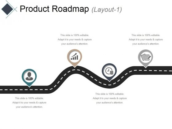 Product Roadmap Layout 1 Ppt PowerPoint Presentation Themes