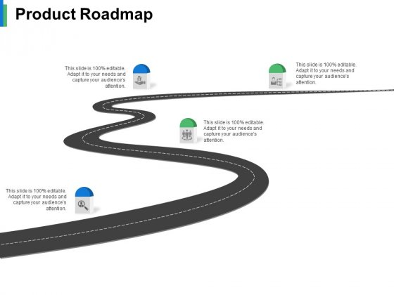 Product Roadmap Ppt PowerPoint Presentation Gallery Example Topics