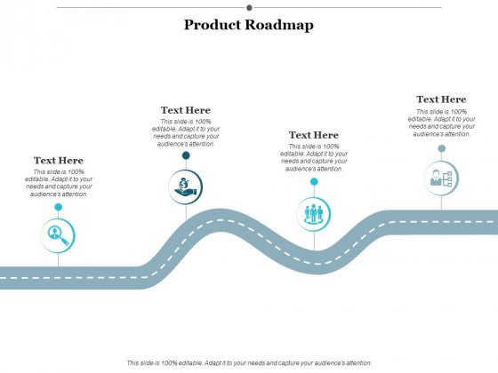 Product Roadmap Ppt Powerpoint Presentation Icon Graphics Example