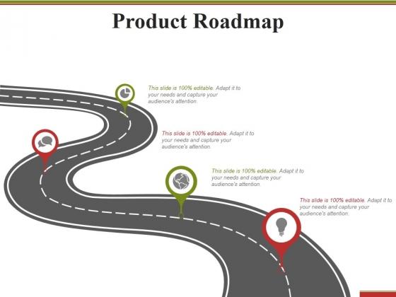 Product Roadmap Ppt PowerPoint Presentation Summary Model