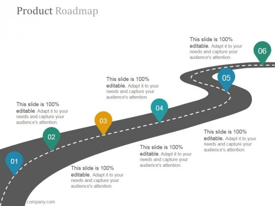 Product Roadmap Ppt PowerPoint Presentation Topics