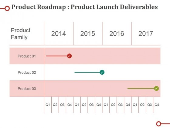 Product Roadmap Product Launch Deliverables Ppt PowerPoint Presentation Professional Elements