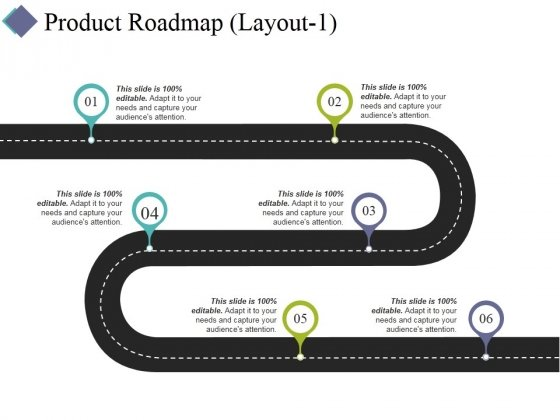 Product Roadmap Template 1 Ppt PowerPoint Presentation Model Gridlines
