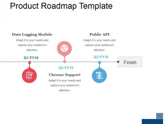 product roadmap template 3 ppt powerpoint presentation examples