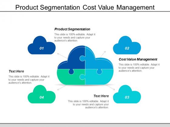 Product Segmentation Cost Value Management Ppt PowerPoint Presentation File Elements
