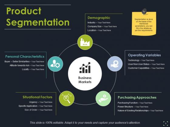 Product Segmentation Template 2 Ppt PowerPoint Presentation Ideas Themes