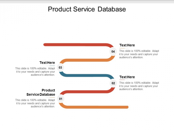 Product Service Database Ppt PowerPoint Presentation Professional Sample Cpb Pdf
