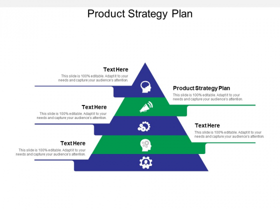 Product Strategy Plan Ppt PowerPoint Presentation Ideas Format Ideas Cpb
