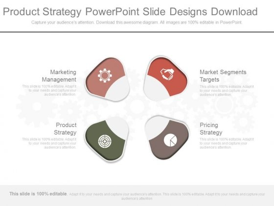 Product Strategy Powerpoint Slide Designs Download