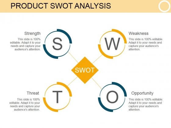 Product Swot Analysis Ppt PowerPoint Presentation Show