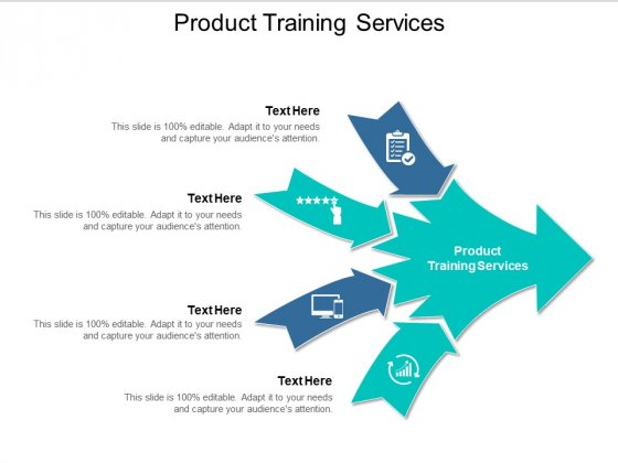 Product Training Services Ppt PowerPoint Presentation Styles Templates Cpb