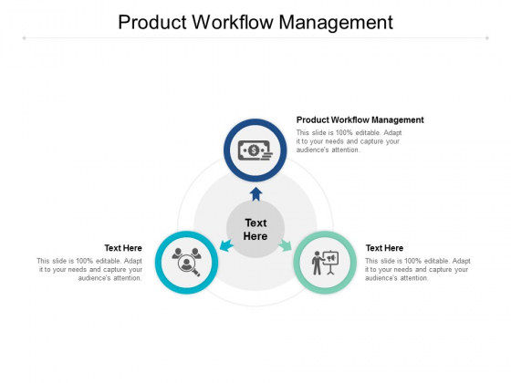 Product Workflow Management Ppt PowerPoint Presentation Icon Background Cpb