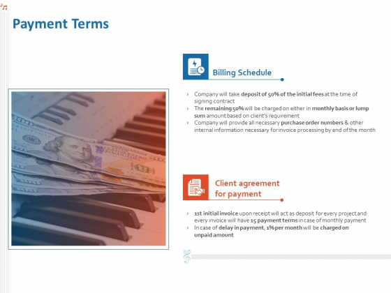 Production House Agreement Payment Terms Ppt Example PDF