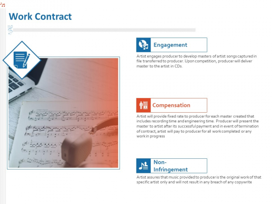 Production House Agreement Work Contract Ppt Slides Graphics Example PDF