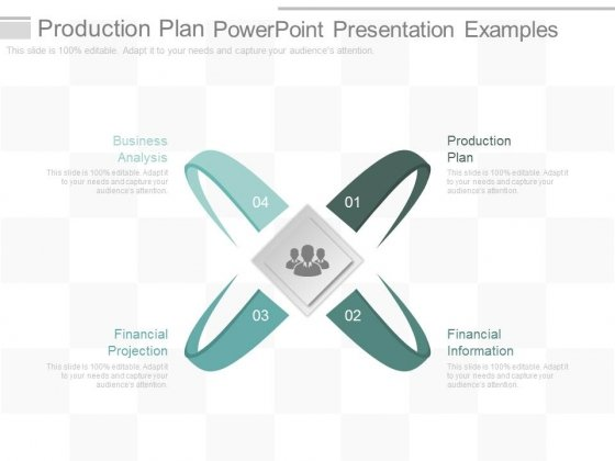 Production Plan Powerpoint Presentation Examples