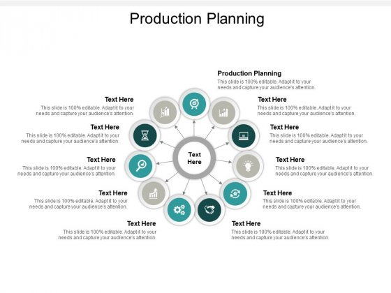 Production Planning Ppt PowerPoint Presentation Icon Visuals Cpb