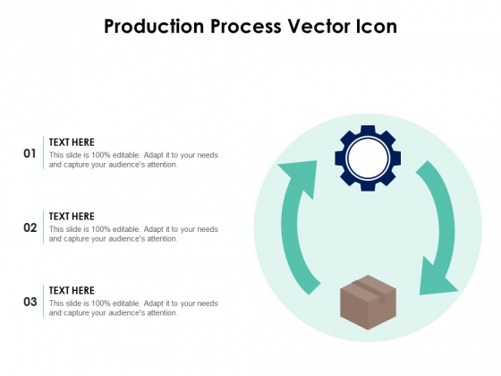 Production Process Vector Icon Ppt PowerPoint Presentation Icon Designs Download PDF