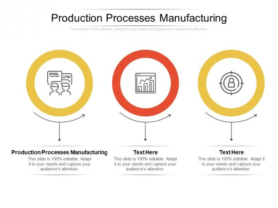 Production Processes Manufacturing Ppt PowerPoint Presentation Professional Rules Cpb