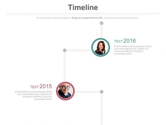 Productive Employees Timeline Diagram Powerpoint Slides