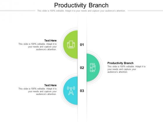 Productivity Branch Ppt PowerPoint Presentation Styles Portrait Cpb Pdf