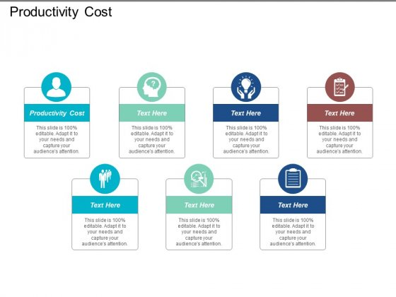 Productivity Cost Ppt PowerPoint Presentation Styles Templates