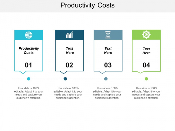 Productivity Costs Ppt PowerPoint Presentation Icon Templates Cpb