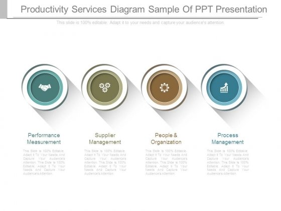 Productivity Services Diagram Sample Of Ppt Presentation