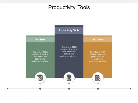 Productivity Tools Ppt PowerPoint Presentation Outline Model Cpb