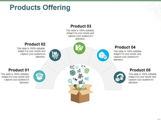 Products Offering Ppt PowerPoint Presentation Icon Graphics Design