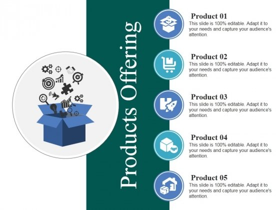 Products Offering Ppt PowerPoint Presentation Ideas Background Image