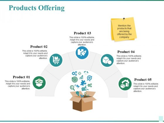 Products Offering Ppt PowerPoint Presentation Layouts Graphic Images