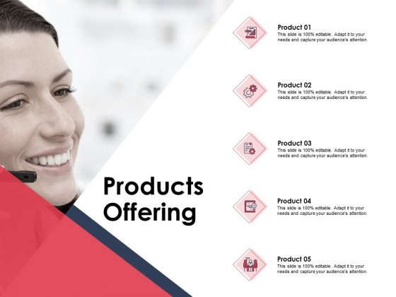 Products Offering Ppt PowerPoint Presentation Model Infographic Template