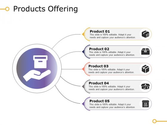 Products Offering Ppt PowerPoint Presentation Outline Visuals