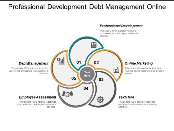 Professional Development Debt Management Online Marketing Employee Assessment Ppt PowerPoint Presentation Layouts Graphics Download