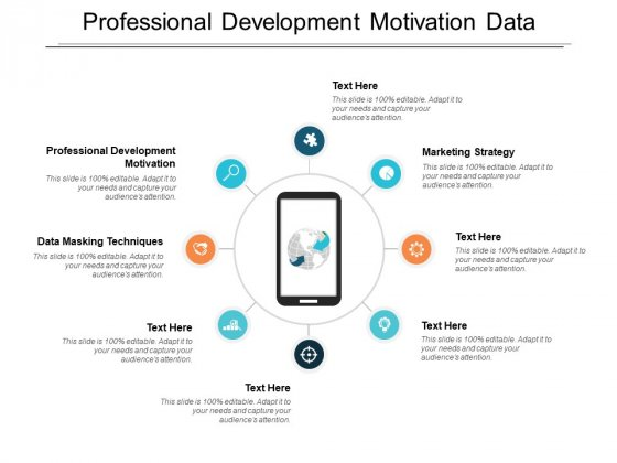 Professional Development Motivation Data Masking Techniques Marketing Strategy Ppt PowerPoint Presentation Gallery Format Ideas