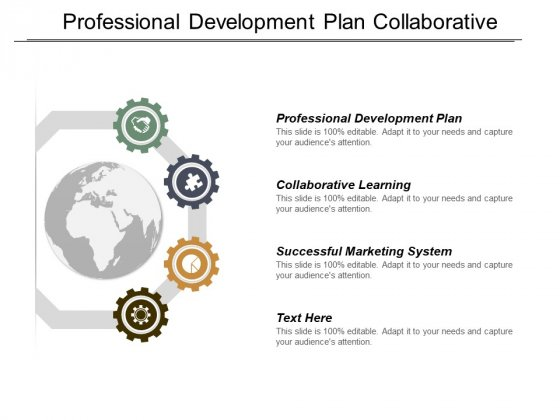 Professional Development Plan Collaborative Learning Successful Marketing System Ppt PowerPoint Presentation File Designs Download